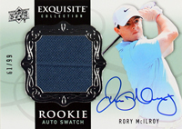 """""""Rory-McIlroy-2014-Exquisite-Golf-Autograph-Rookie-Swatch-Rory-McIlroy"""""""